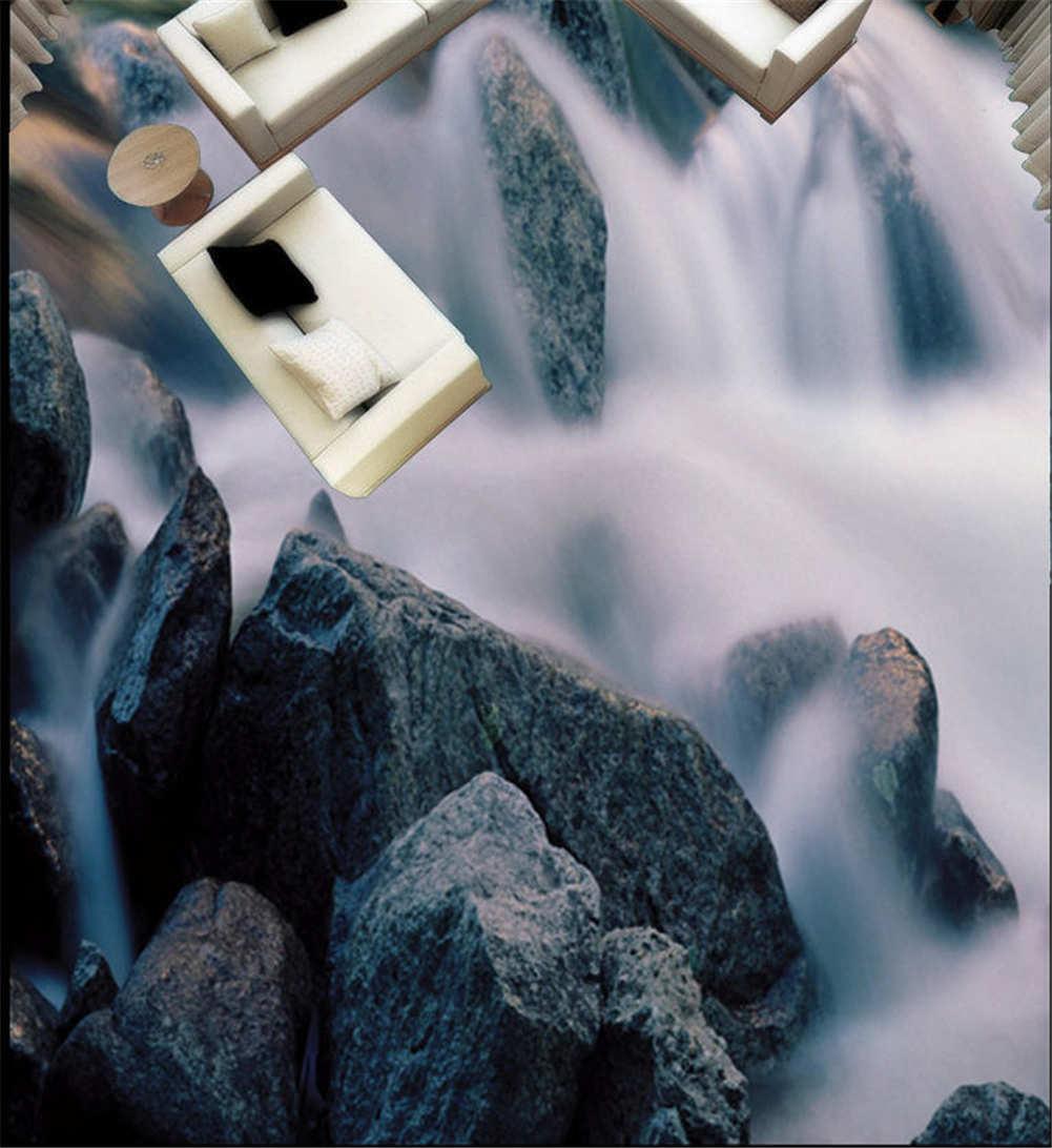 Mystische Märchenland. 3D Fußboden Wandgemälde Foto Bodenbelag Tapete Zuhause De
