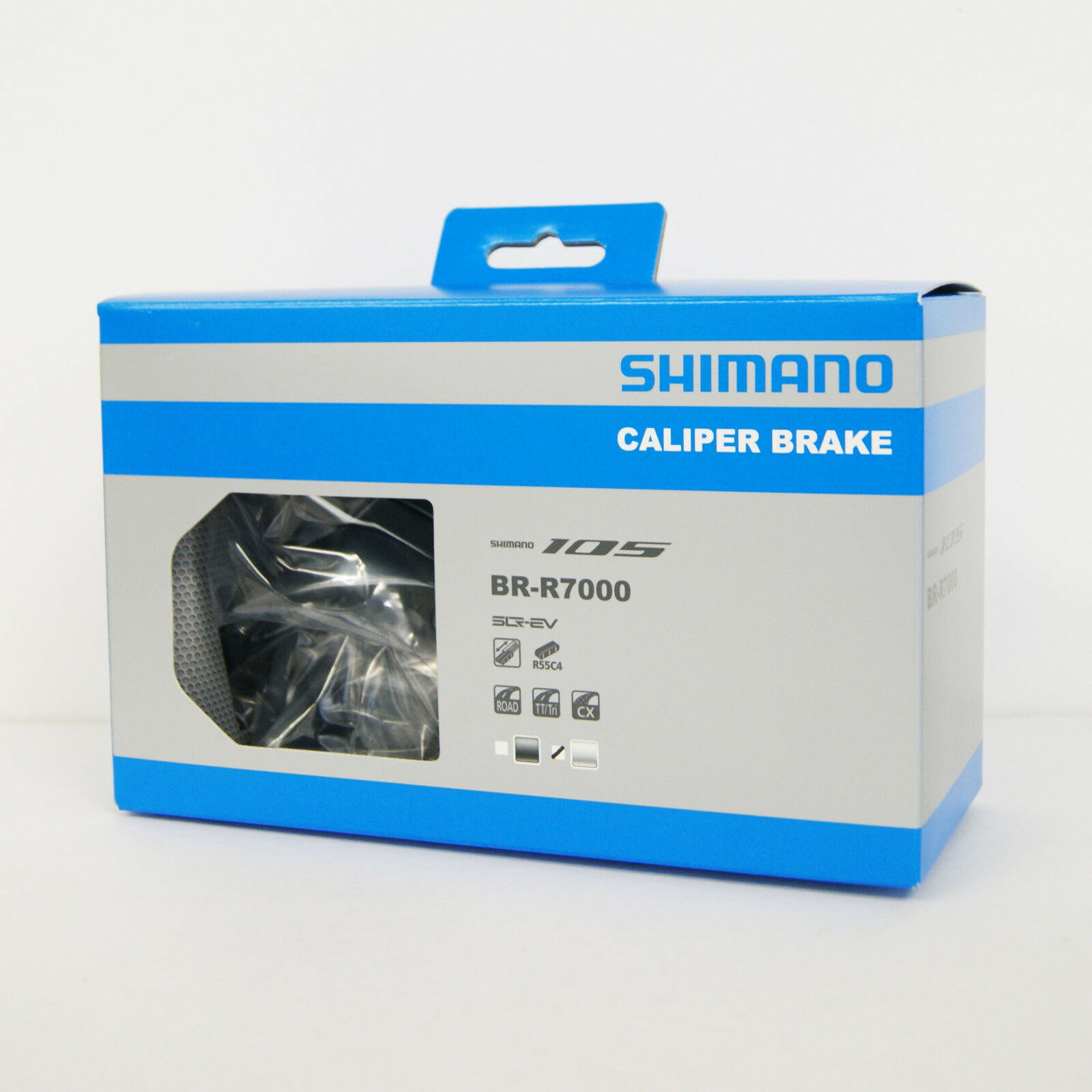 Shimano 105 Br-R7000 Bremssattel Vorne und Hinten (Paar) Silber Ibrr7000a82s