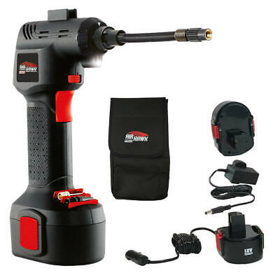 Air Hawk PRO - Portable Air Compressor Tyre Inflator Automatic Pump Cordless