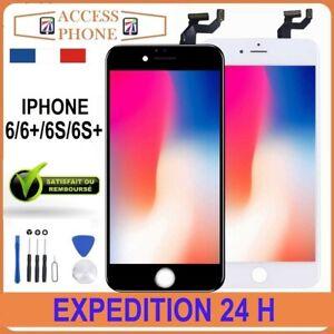 ECRAN-LCD-VITRE-TACTILE-SUR-CHASSIS-POUR-IPHONE-6-6-6S-6S-Noir-Blanc-OUTIL