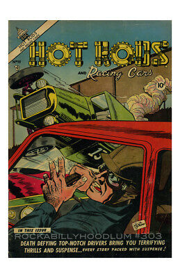 Accessoires & Fanartikel 12 Preisnachlass Automobilia FleißIg Neu Hot Rod Plakat 11x17 Für Hot Rod Und Rennautos Comic No