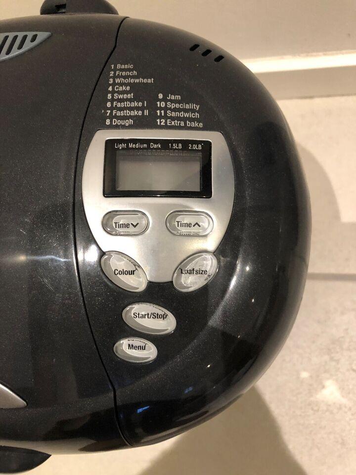 Bagemaskine, Morphy Richards Fast Bake 48268