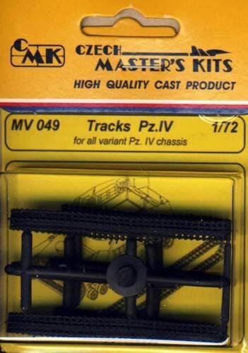 PlanetModels CMK Tracks Pz.IV /& Varianten Gummikette Panzer 1:72 Gummi variants