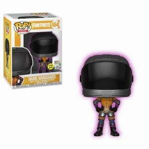 Collection Ici Fortnite Battle Royale Dark Vanguard Gitd Glow Dark Pop! Games #464 Figurine Funko-afficher Le Titre D'origine