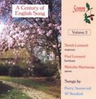 a Century of English Song Volume 2 CD 1999