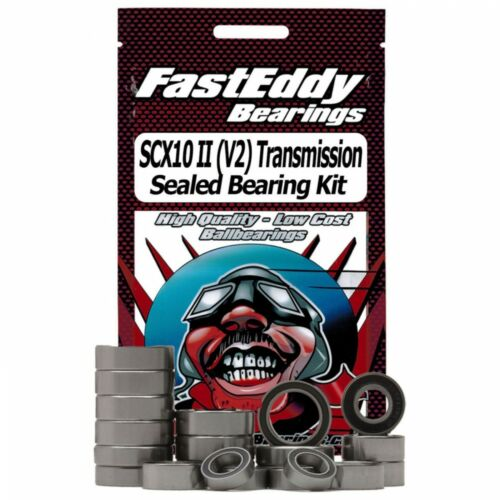 Tranmission Sealed Bearing Kit TFE4472 Fast Eddy Bearings Axial SCX10 II V2