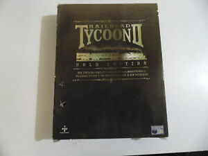 PC Railroad Tycoon II Gold Edition The 2nd Century & 12 neue Szenarien Big Box