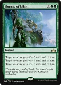 MTG Guilds of Ravnica Bounty of Might MINT
