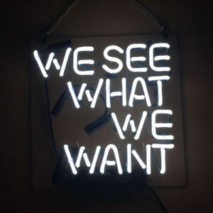 """New It Was All A Dream Neon Sign Acrylic White Light Lamp Display Poster 14/"""""""