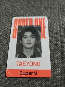SuperM-SuperOne-Taeyong-ID-Card-Kpop-Red