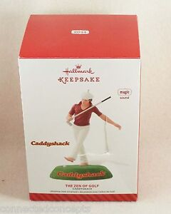 Hallmark Caddyshack Zen Of Golf Chevy Chase As Ty Webb Christmas