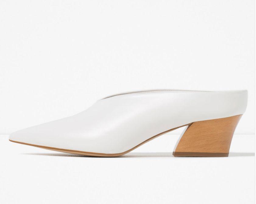 Zara Zara Zara Cuero Mula Zapatos 36-41 Ref. 1220 101  tienda de descuento