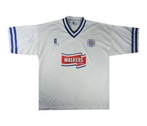 Leicester City 1996-98 ORIGINALE AWAY SHIRT (OTTIMO) XL soccer jersey