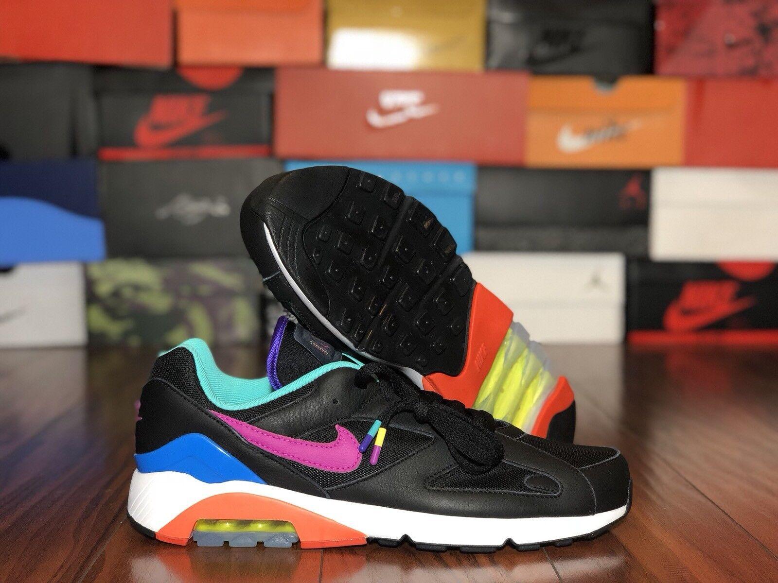 """Nike Air Max 180 Nike-ID """"Marcello Morandini"""" BQ0739-992 Größe 12,5"""