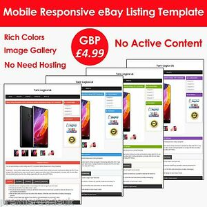 Ebay listing template auction html professional mobile responsive image is loading ebay listing template auction html professional mobile responsive pronofoot35fo Image collections