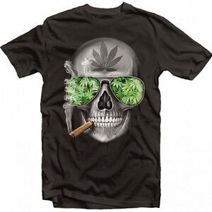 b08d123db Details about dtg weed skull gangster ganja dope swar swagger mashup T  Shirt Tee Tshirt