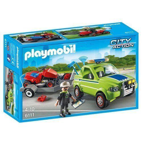 Playmobil 6111 - Paisajista con Cortacésped - NUEVO