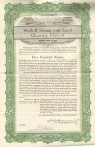 Walkill-Stump-and-Land-Clearing-District-gt-1920-Green-Cove-Springs-Florida-bond