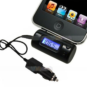 Wireless-FM-Transmitter-Car-Charger-Adapter-for-iPhone-3G-4G-4S-3GS-4-iPod-Touch