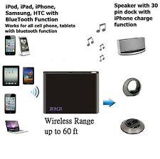 Black Bluetooth Music Receiver Adapter for post 2008 Bose SoundDock Speaker