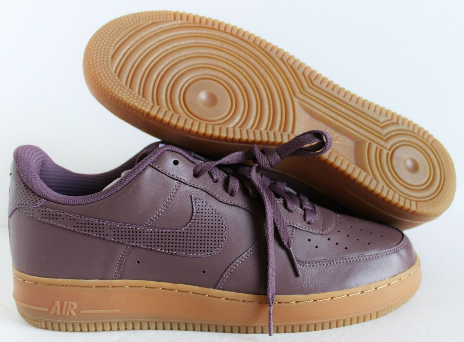 3826f34ab990 NIKE MEN MEN MEN AIR FORCE 1 LOW ID GUM BROWN SZ 13  808791-998 ...