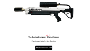 The-Boring-Company-Not-A-Flamethrower-BRAND-NEW-Limited-Edition-Serial-17435