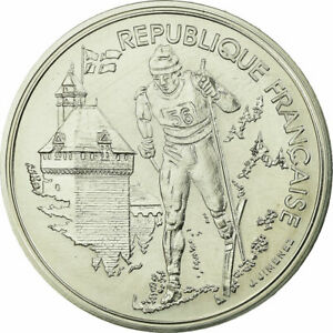 736227-Coin-France-100-Francs-1991-Paris-ESSAI-MS-Silver-Gadoury-C18