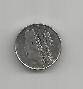 Details about NETHERLANDS Nederlanden 1984 - Juliana Koningin - TINY 10  Cents coin