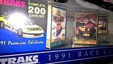 1991 Traks Premier Edition 200-Card Race Card Set - Gordon #1 RC 10?