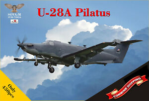 SOVA-M-72016-U-28A-Pilatus-ISR-version-scale-plastic-model-kit-1-72