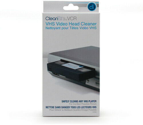 Digital Innovations 6012800 CleanDr VHS Video Head Cleaner (Black) [Ne