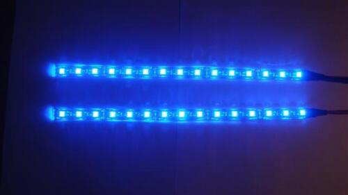Twin LED neon Interior Footwell Lights complete with cigar plug /& switch easyfit