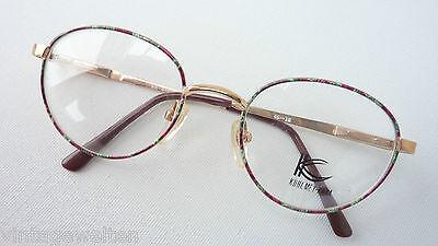 Unito Kuhlmwey Kana Pantobrille Metallgestell Brillenfassung Kinder Federbügel Size L