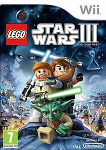 LEGO-Star-Wars-III-3-The-Clone-Wars-Nintendo-Wii-PAL-Brand-New-FACTORY-SEALED