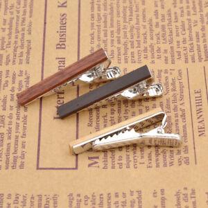 Hairstylist Tie Clip Wooden Tie Bar