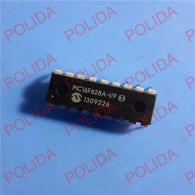 MCU IC MICROCHIP DIP-18 PIC16F628A-I//P PIC16F628A