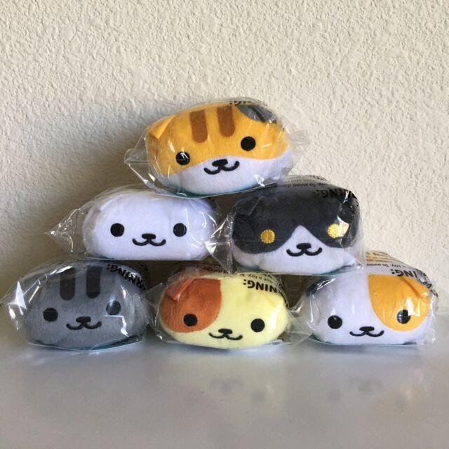"Kitty Collector 4/"" Plush Neko Atsume Fred"