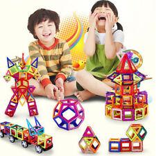 122pcs Magnetic Building Blocks Construction Children Kids Puzzles Toys Kits New