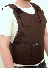 External Ballistic Bulletproof Vest Body Armor Protection Level 3A Size XL Black