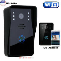 Wifi Wireless Video Ir Camera Door Phone Visual Intercom Door Bell Night Version
