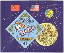 Mongolia 1973 Apollo/Soyuz/Rocket/Space/Moon/Science/Transport 1v m/s (n24577)