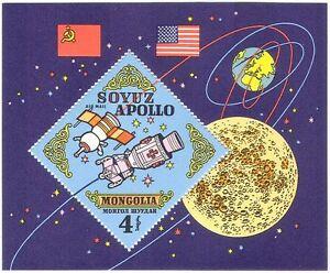 Mongolia-1973-Apollo-Soyuz-Rocket-Space-Moon-Science-Transport-1v-m-s-n24577