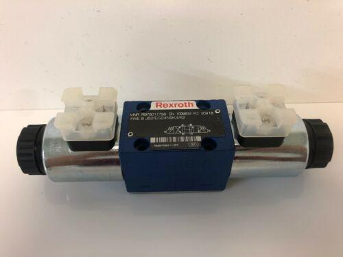 NEW REXROTH 24VDC HYDRAULIC SOLENOID VALVE R978017756 4WE-6-J62//EG24N9K4-62