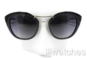 adcd5ef75 New Burberry Round Cat Eye Black Gray Gradient Sunglasses BE4251Q ...