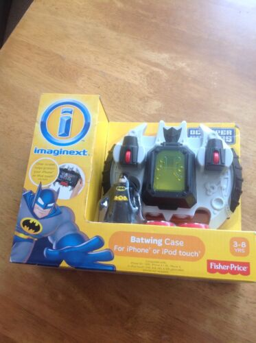 Imaginext Batwing Custodia per iPhone 3G//3GS//4//4S//5 iPod Touch 2nd//3rd//4th//5th Gen