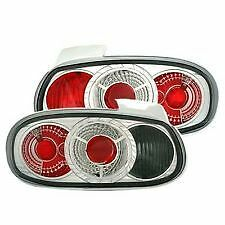 MAZDA MX-5 CLEAR REAR LIGHTS LAMPS PAIR NEW CRYSTAL CLEAR PERFORMANCE
