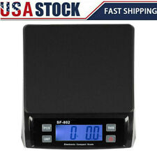 66 Lbs Sf 802 Lcd Digital Shipping Postal Scale Tabletop Scales With Adapter