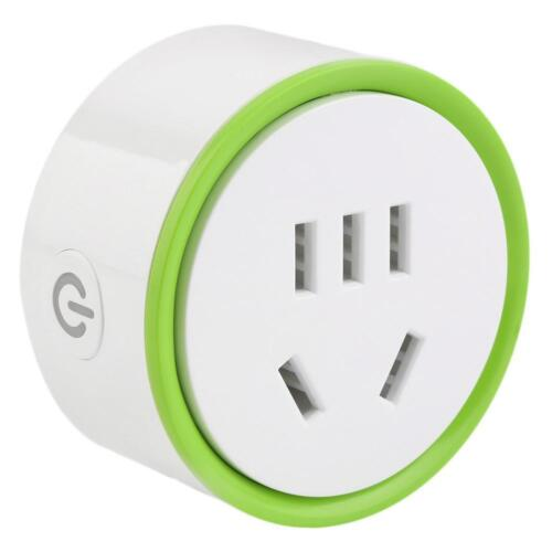 Wifi Connection Smart Remote Control Timer Switch Power Outlet Socket Plug AE