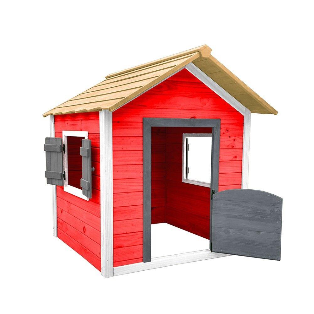Kinderspielhaus Spielhaus Gartenhaus für Kinder