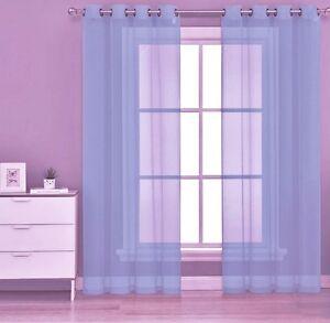 1PC-LIGHT-BLUE-GROMMET-VOILE-SHEER-PANEL-WINDOW-CURTAIN-DRAPE-RUBY-63-034-84-034-95-034